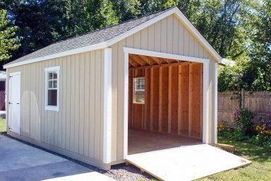 small one car garage