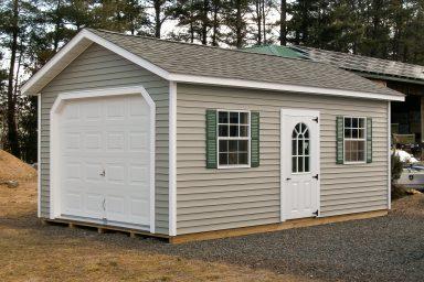 one car garage storage