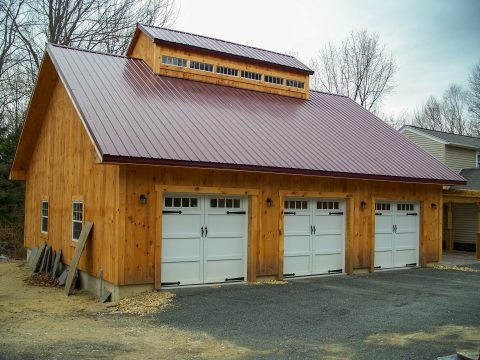 3 and 4 car garages