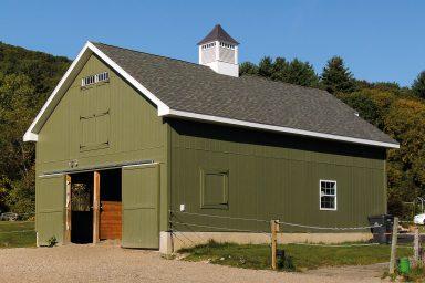 pre built horse barns