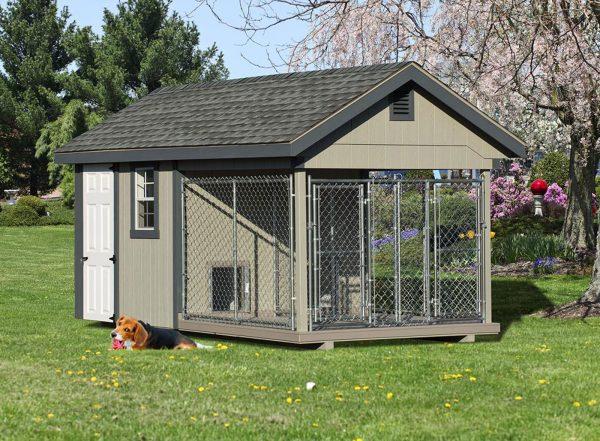 heavy duty outdoor dog kennel