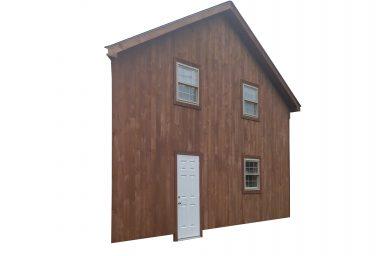 2 car garages wall height