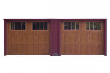 standard 2 car garage with dormer