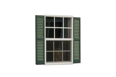 2 car garages windows