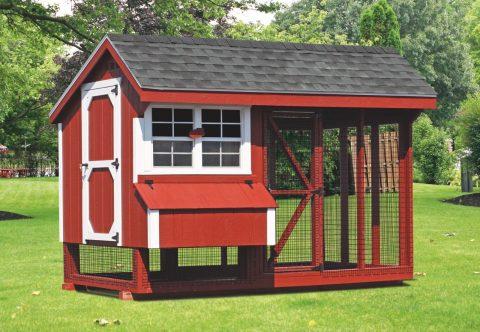 large chicken coop