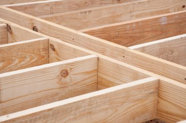 small shed floor joists