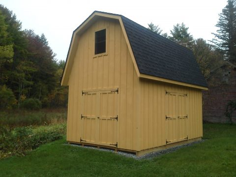 2 story prefab shed