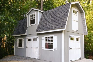 2 story shed