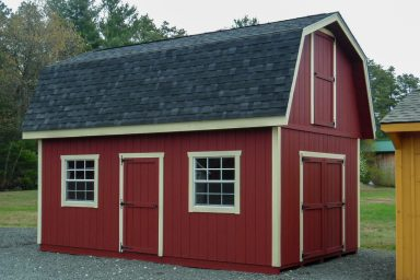 2 story storage shed