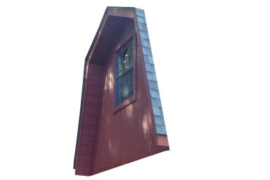 2 story shed overhang