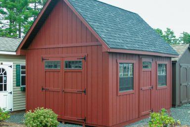 wooden garden sheds
