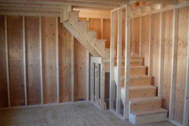 garden sheds staircase