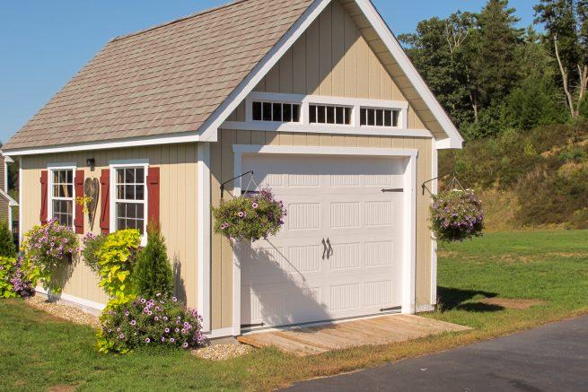 prefab garages for one car
