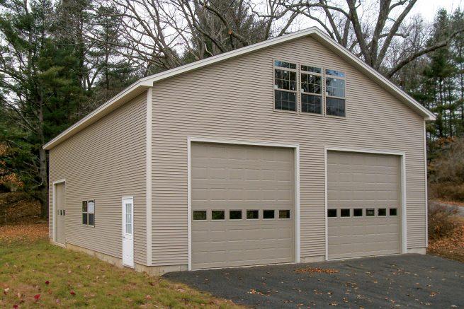 prefab garages for 2 cars