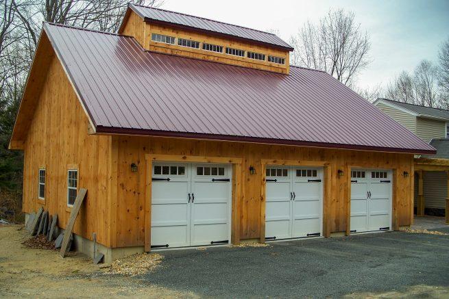 3 and 4 car prefab garages