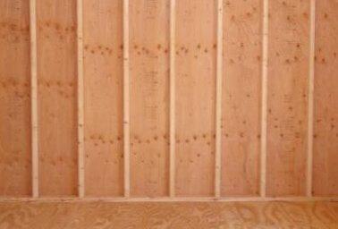 shed interior wall